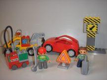 Lego Duplo - Országúti autómentő 4964 (villogóba elemet kell cserélni)