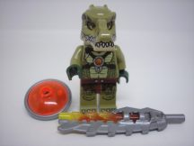 Lego Legends of Chima figura - Crocodile Warrior 1 (loc122)