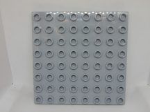 Lego Duplo Alaplap 8*8 (v.szürke)
