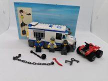 Lego City - Rabszállító 60043 (katalógussal, katalógus eleje hiányzik)