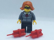 Lego City Figura - Rabló nő dinamittal (cty0753) Ritka!