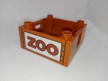 Lego Duplo zoo láda (karcos)