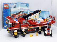 Lego City - Off-road tűzoltó és motorcsónak 7213 (szürke kerékkel)