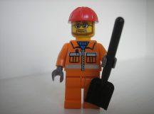 Lego Town City figura - Építőmunkás (cty032)
