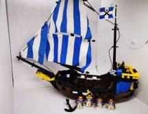 Lego Legoland - Caribbean Clipper (Pirates Hajó) 6274 RITKASÁG