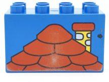 Lego Duplo képeskocka - tető (karcos)