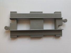 Lego Duplo sín egyenes (barnás szürke), lego duplo vonatpályához