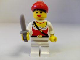 Lego Pirates figura - Kalóz (pi058)