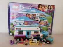 Lego Friends - Állatorvosi lószállító 41125 (doboz+katalógus)