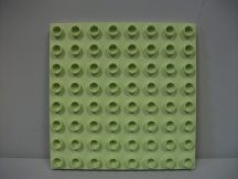 Lego Duplo Alaplap 8*8 halvány zöld