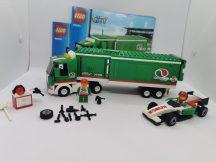 Lego City - Grand Prix teherautó 60025 (2-es,3-as katalógussal, 1 figura hiány)