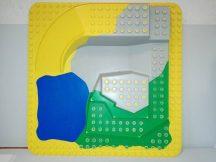 Lego Duplo 3D alaplap (oldalán pici repedés)