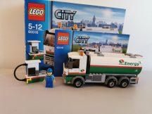 Lego City - Tartálykocsi 60016 (doboz+katalógus)
