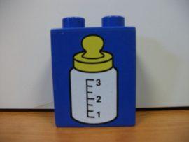 Lego Duplo képeskocka - cumisüveg