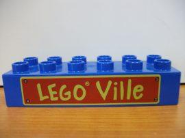 Lego Duplo képeskocka - lego ville
