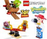 LEGO Spongebob, Angry Birds, Toy Story figura
