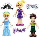 LEGO Friends, Elves, Disney figura