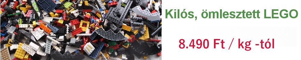 Kilós, ömlesztett LEGO - Használt Lego