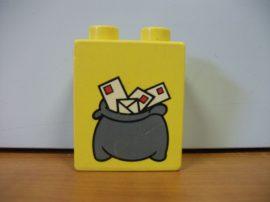 Lego Duplo képeskocka - levél (karcos)