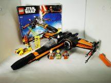 LEGO Star Wars - Poe X-szárnyú vadászgépe 75102 (katalógussal) (figura hiány)