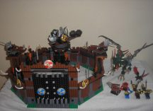 Lego Vikings (Viking Erőd, Vár) - Viking Fortress against the Fafnir Dragon 7019