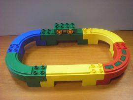 Lego Duplo autópálya