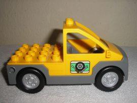 Lego Duplo Autó (sárga)