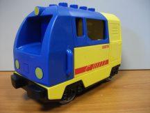 Lego Duplo mozdony, lego duplo vonat SZERVÍZELT (SZERVÍZÜNK ÁLTAL ÁTVIZSGÁLT, KIPRÓBÁLT)