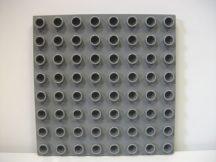 Lego Duplo Alaplap 8*8 s. szürke