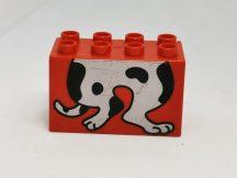 Lego Duplo képeskocka kutya (karcos)