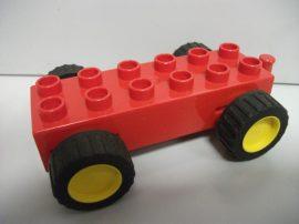 Lego Duplo hátrahúzós utánfutó