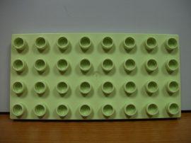Lego Duplo Alaplap 4*8 (zöldes)