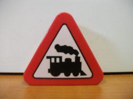 Lego Duplo képeskocka - mozdony  (karcos)