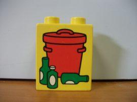 Lego Duplo képeskocka - kuka