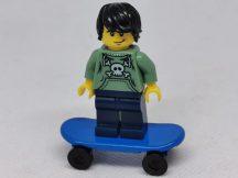 Lego Minifigura - Deszkás (col006)