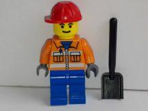 Lego Town City figura - Építőipari munkás (cty105)