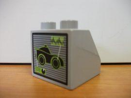 Lego Duplo képeskocka - autó