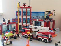 LEGO City - Tűzoltóállomás 60110 (katalógussal)