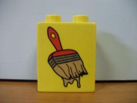 Lego Duplo képeskocka - ecset