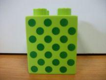Lego Duplo képeskocka - pöttyök (karcos)