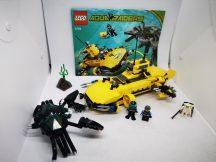 Lego Aqua Raiders - Rák-roppantó  7774 (katalógussal) (matrica hiány)