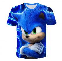 Gyerek 3D póló Sonic 110 méret