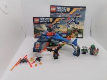 LEGO Nexo Knights - Aaron Fox V2-es légszigonya (70320) (katalógussal)