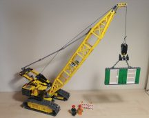 Lego City - Lánctalpas daru 7632 (katalógussal)