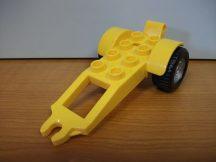 Lego Duplo utánfutó sárga