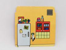 Lego Duplo Papír Fal Elem, babaház fal elem