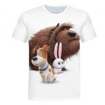 Gyerek 3D póló Kiskedvencek 110 méret