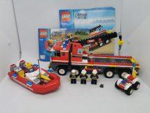 Lego City - Off-road tűzoltó és motorcsónak 7213 (katalógussal, matrica hiány)