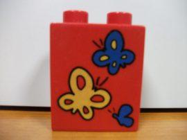Lego Duplo képeskocka - pillangó