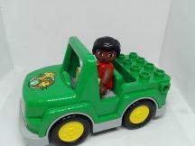 Lego Duplo Szavannás autó figurával 10802-es készletből  zöld